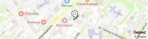 Бархат на карте Иваново