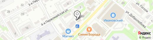 Аэлита XXI век на карте Иваново