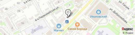 Жар-птица на карте Иваново