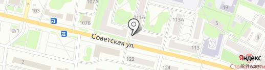 Служба посуточной аренды квартир на карте Костромы