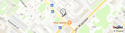 Черепаха на карте Иваново