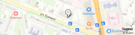Комбинат Строительных Конструкций на карте Иваново
