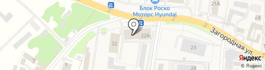 Южный на карте Коляново