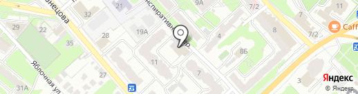 Мачете на карте Иваново