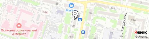 ДК на карте Иваново