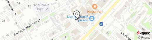 Долина на карте Иваново