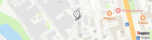 Savosina на карте Иваново