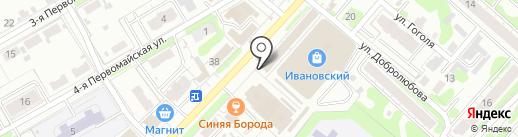 Beer лога на карте Иваново