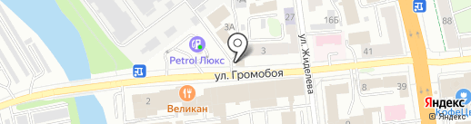 Диванчик на карте Иваново