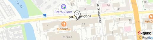 Адвокатские кабинеты Анохина Д.Г. и Волченкова М.Е. на карте Иваново