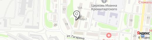CONFORT на карте Костромы