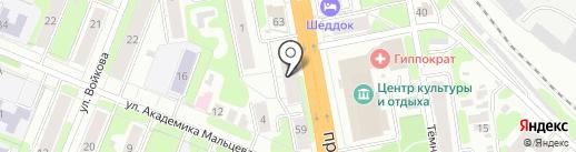 Домино на карте Иваново