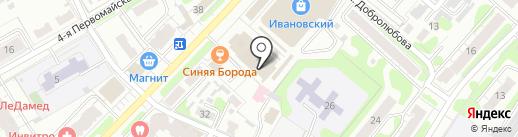 Магазин электро товаров на карте Иваново