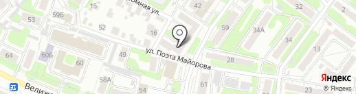 СК ТУК на карте Иваново