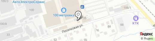 Самомой на карте Костромы