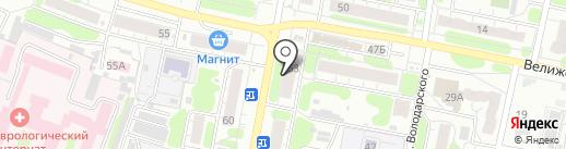 Мясоед на карте Иваново