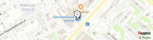 Сеть магазинов рыбной продукции на карте Иваново