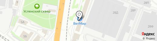 Знактекс на карте Иваново