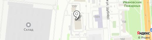 Российская сервисная компания на карте Иваново