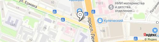 Колбасный дворик на карте Иваново