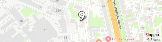 Измерительная техника на карте Иваново