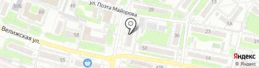 Ивановский областной учебный центр ДОСААФ РФ на карте Иваново