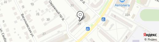 Парикмахерская на карте Костромы