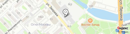 Скорость на карте Иваново
