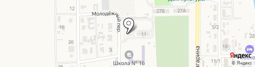 Амбулатория на карте Восхода