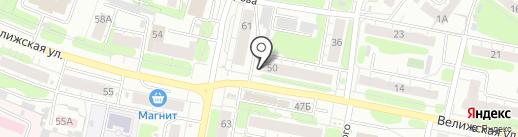 Брестский мясокомбинат на карте Иваново
