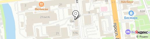 Централизованная бухгалтерия №4 на карте Иваново