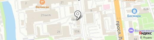 Централизованная бухгалтерия №2 на карте Иваново