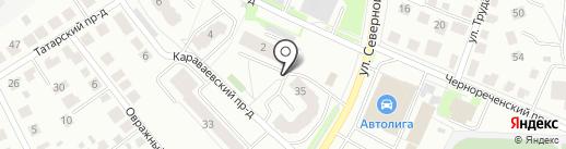Адвокат Соловьев В.В. на карте Костромы