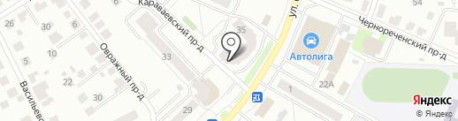 Сладкий уголок на карте Костромы