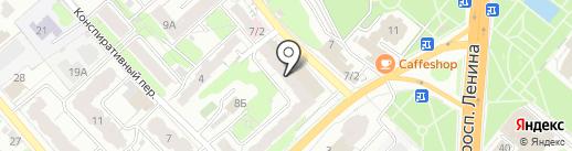Бумага & Канцтовары на карте Иваново