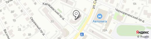 Палаццо на карте Костромы