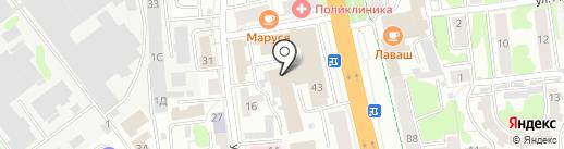 АКБ Кранбанк на карте Иваново