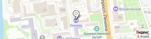 Охотничий домик на карте Иваново