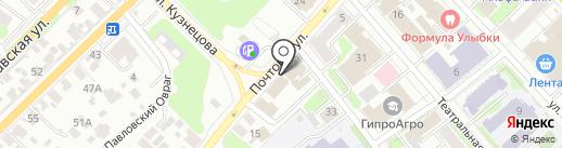 Иваново-Реклама на карте Иваново