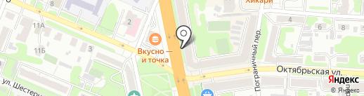 Центр Торг на карте Иваново