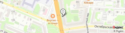 Кан на карте Иваново