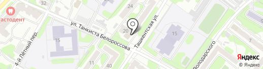 Сервис большого города на карте Иваново