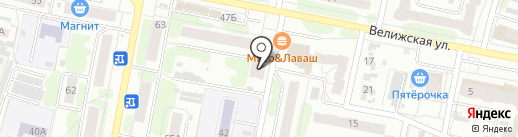 ИвТуризм на карте Иваново