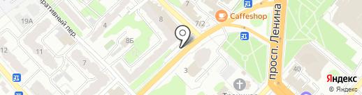 Салон цветов на карте Иваново