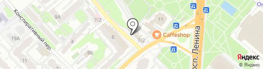 Монолит на карте Иваново