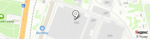 Ивановский завод текстильного машиностроения на карте Иваново