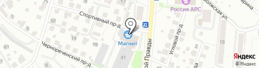 LUXURY на карте Костромы