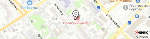 Городская поликлиника №5 на карте Иваново
