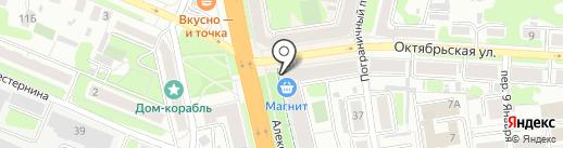 Столички на карте Иваново