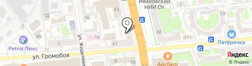 Детская ПМПК на карте Иваново